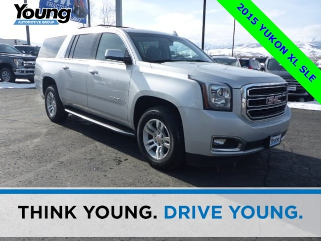 Used 2015 GMC Yukon XL SLE SUV for sale in Layton, UT at Young Buick GMC