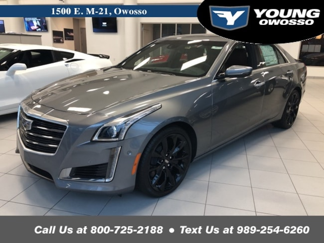 2019 CADILLAC CTS 3.6L Twin Turbo V-Sport Premium Luxury Sedan