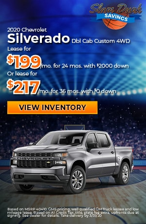 2020 Chevrolet Silverado Dbl Cab Custom 4WD