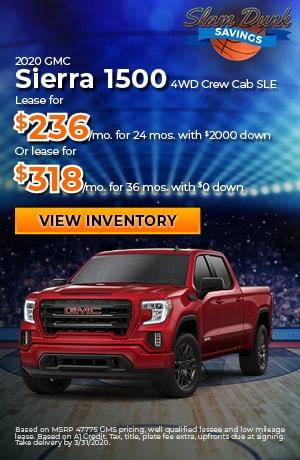 2020 GMC Sierra 1500 4WD Crew Cab SLE
