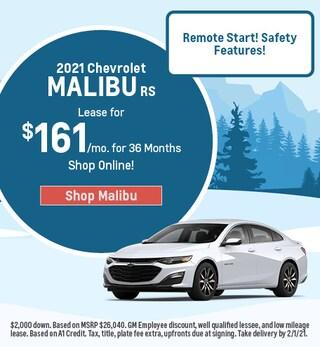 New 2021 Chevrolet Malibu | Lease