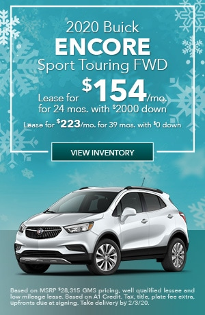 January 2020 Buick Encore Sport Touring FWD