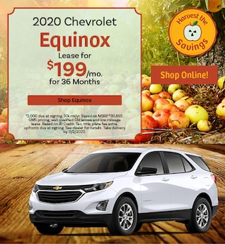 New 2020 Chevrolet Equinox | Lease