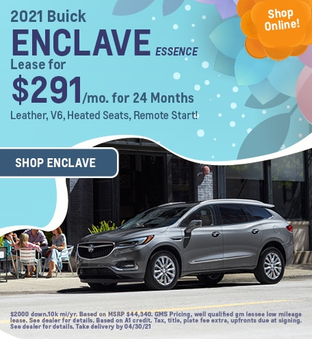 New 2021 Buick Enclave   Lease