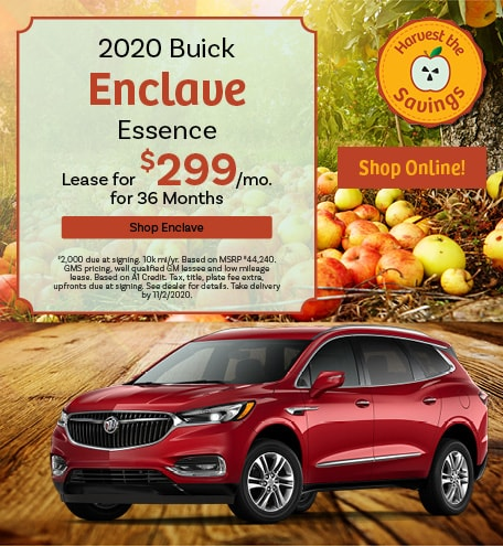 New 2020 Buick Enclave   Lease