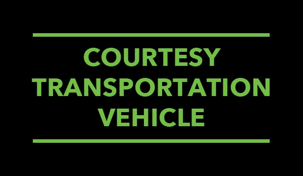 Courtesy Vehicle