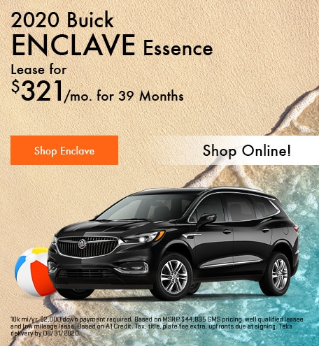 New 2020 Buick Enclave | Lease
