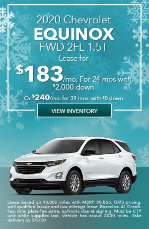 January 2020 Chevrolet Equinox FWD 2FL 1.5T