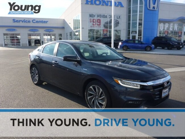 2019 Honda Insight Touring Sedan for sale in Logan, Utah at Young Honda