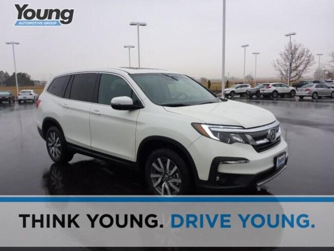 2019 Honda Pilot EX-L w/Navi & RES AWD SUV for sale in Logan, Utah at Young Honda
