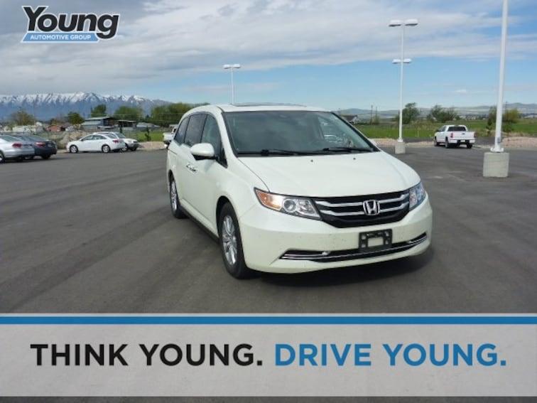 Used 2016 Honda Odyssey EX-L Minivan/Van for sale in Ogden, UT at Young Subaru