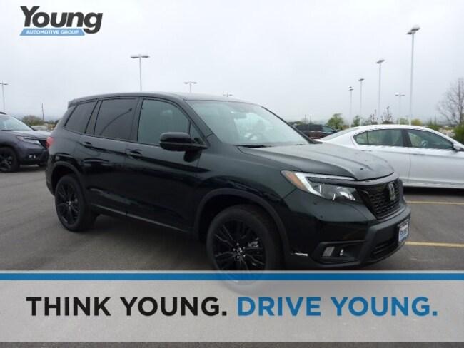 2019 Honda Passport Sport AWD SUV for sale in Logan, Utah at Young Honda