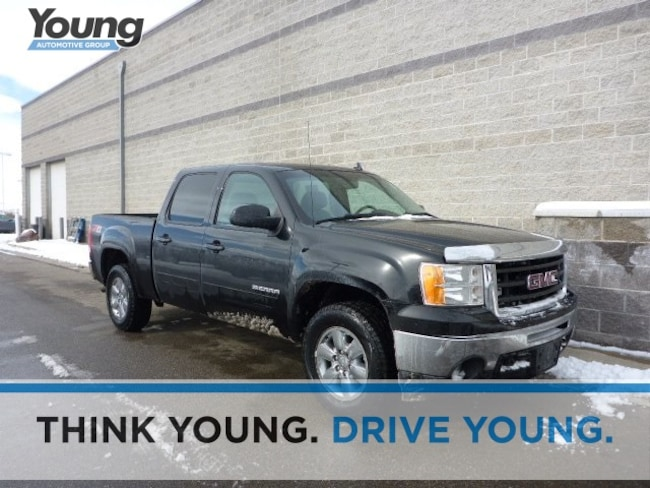 Used 2011 GMC Sierra 1500 SLT Truck for sale in Layton, UT at Young Buick GMC