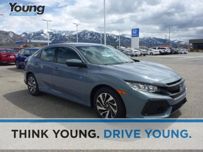 2019 Honda Civic LX Hatchback for sale in Logan, Utah at Young Honda