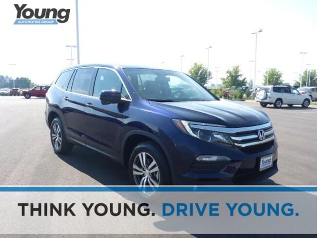 2018 Honda Pilot EX-L AWD SUV for sale in Logan, Utah at Young Honda