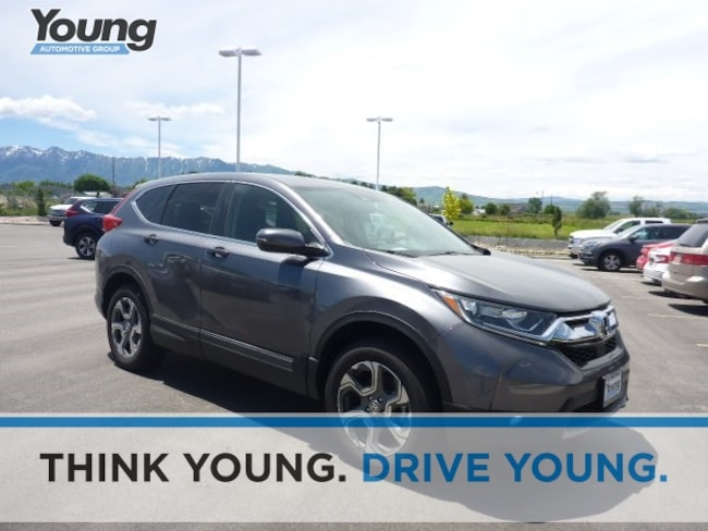 2019 Honda CR-V EX AWD SUV for sale in Logan, Utah at Young Honda