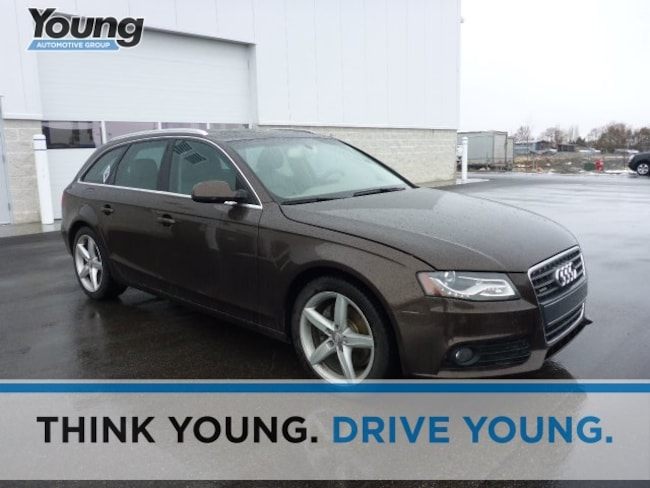 Used 2011 Audi A4 2.0T Premium Wagon for sale in Logan, UT at Young Honda