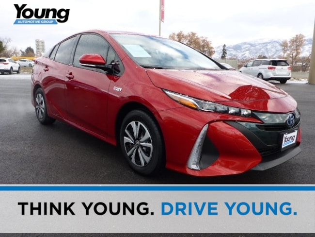 Used 2018 Toyota Prius Prime Premium Hatchback for sale in Ogden, UT at Avis Car Sales