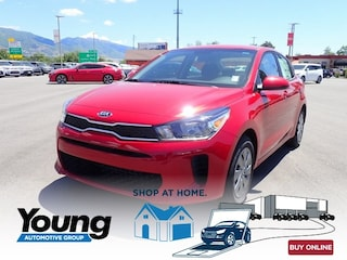 New 2020 Kia Rio S Sedan for sale in Kaysville, UT at Young Kia