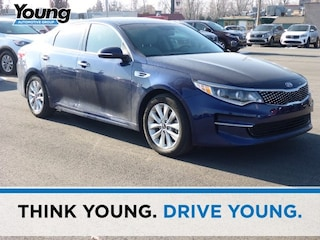 Used 2016 Kia Optima EX Sedan 5XXGU4L32GG093953 for sale in Kaysville, Utah at Young Kia