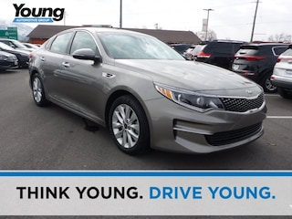 Used 2016 Kia Optima EX Sedan 5XXGU4L33GG074568 for sale in Kaysville, Utah at Young Kia