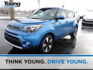 New 2019 Kia Soul + Hatchback for sale in Kaysville, UT at Young Kia