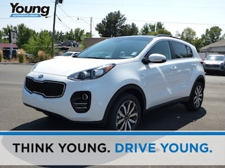 New 2019 Kia Sportage EX SUV for sale in Kaysville, UT at Young Kia
