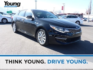 Used 2018 Kia Optima EX Sedan 5XXGU4L31JG194232 for sale in Kaysville, Utah at Young Kia