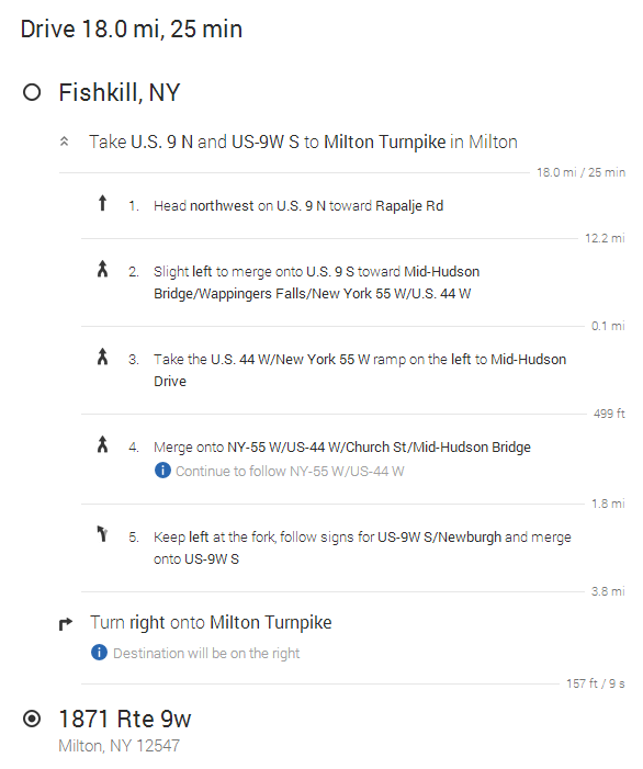 Listed Directions From Fishkill to Youngs Motors.PNG