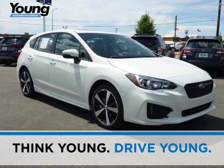 New 2018 Subaru Impreza 2.0i Sport with EyeSight, Moonroof, Blind Spot Detection & Starlink 5-door for sale in Ogden, UT at Young Subaru