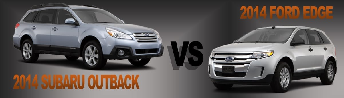 Vehicle Comparison  Subaru Outback Vs  Ford Edge