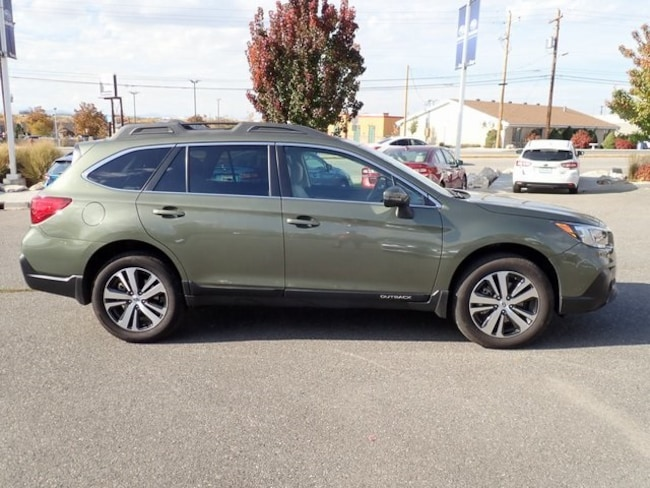 Certified 2018 Subaru Outback 3.6R Limited SUV S811863 for sale in Ogden, UT at Young Subaru