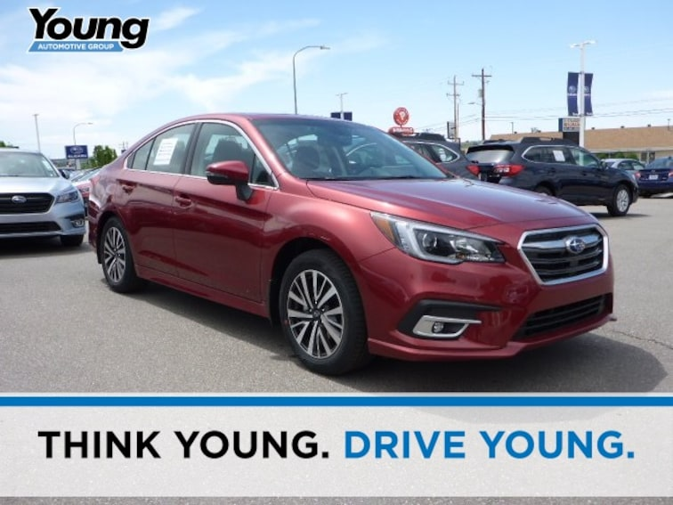 New 2018 Subaru Legacy 2.5i Premium with EyeSight, Blind Spot Detection, Rear Cross Traffic Alert, High Beam Assist, Moonroof, Navigation, and Starlink Sedan for sale in Ogden, UT at Young Subaru