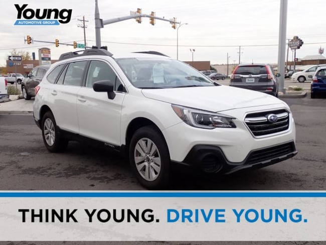 Certified 2018 Subaru Outback 2.5i SUV for sale in Ogden, UT at Young Subaru