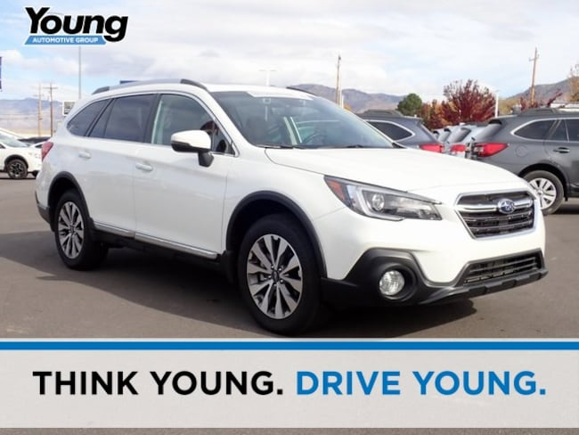 Certified 2018 Subaru Outback 3.6R Touring with Starlink SUV for sale in Ogden, UT at Young Subaru