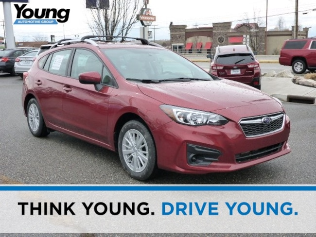 New 2018 Subaru Impreza 2.0i Premium 5-door for sale in Ogden, UT at Young Subaru