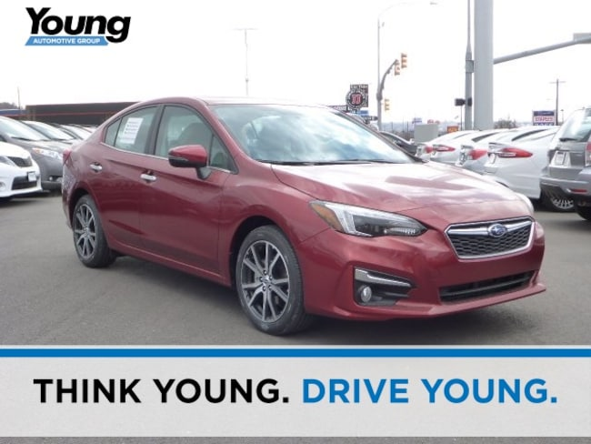 New 2018 Subaru Impreza 2.0i Limited with EyeSight, Moonroof, Blind Spot Detection, Navigation & Starlink Sedan for sale in Ogden, UT at Young Subaru