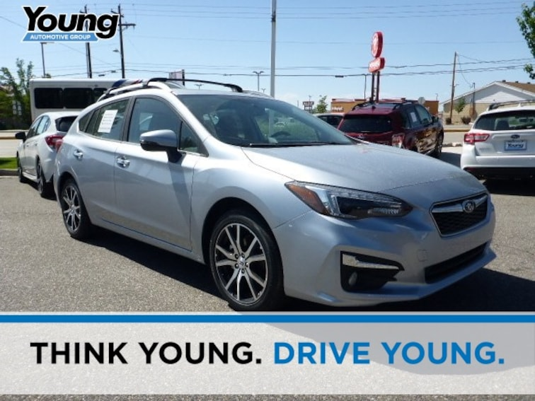New 2018 Subaru Impreza 2.0i Limited with EyeSight, Moonroof, Navigation, Blind Spot Detection & Starlink 5-door for sale in Ogden, UT at Young Subaru