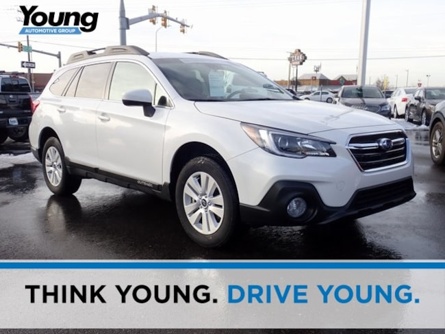 Certified 2019 Subaru Outback 2.5i Premium SUV for sale in Ogden, UT at Young Subaru