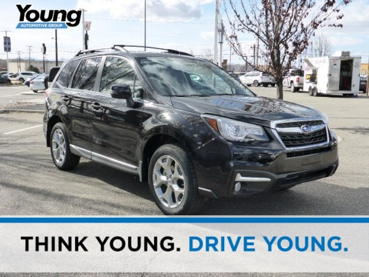 New 2018 Subaru Forester 2.5i Touring with Eyesight + Nav + Starlink SUV for sale in Ogden, UT at Young Subaru