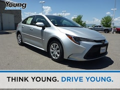 New 2020 Toyota Corolla LE Sedan for sale at Young Toyota Scion in Logan, UT