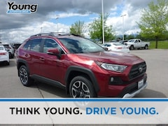 New 2019 Toyota RAV4 Adventure SUV for sale at Young Toyota Scion in Logan, UT