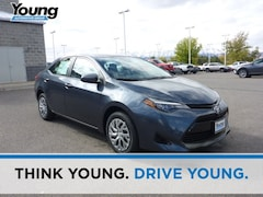 New 2019 Toyota Corolla LE Sedan for sale at Young Toyota Scion in Logan, UT
