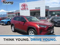 New 2019 Toyota RAV4 LE SUV for sale at Young Toyota Scion in Logan, UT