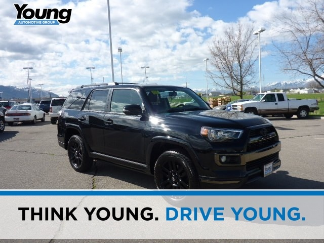New 2019 Toyota 4Runner Limited Nightshade SUV for sale at Young Toyota Scion in Logan, UT