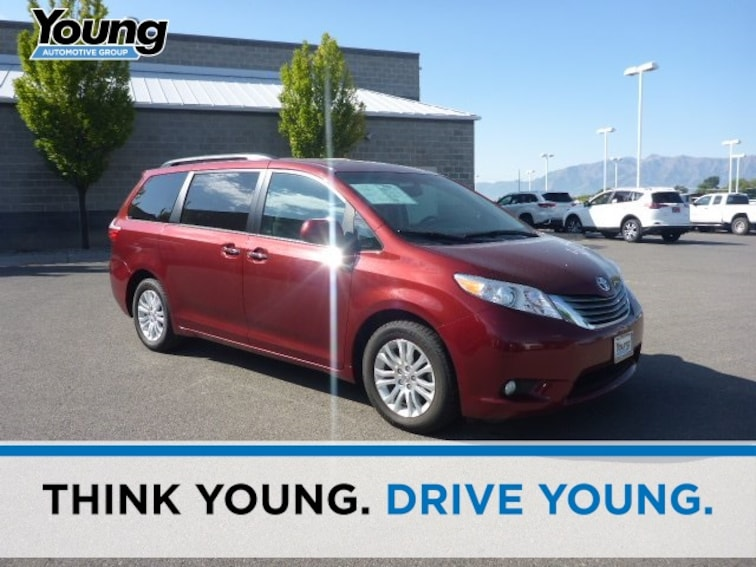 Used 2017 Toyota Sienna XLE Minivan/Van for sale in Ogden, UT at Young Subaru