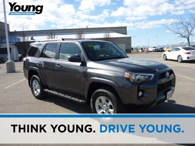 New 2019 Toyota 4Runner SR5 SUV for sale at Young Toyota Scion in Logan, UT