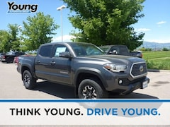 New 2019 Toyota Tacoma TRD Offroad Truck Double Cab for sale at Young Toyota Scion in Logan, UT