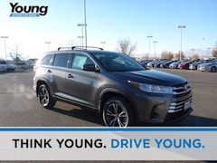 New 2019 Toyota Highlander LE SUV for sale at Young Toyota Scion in Logan, UT