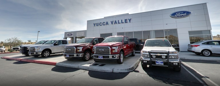 Yucca Valley Ford Center | Ford Dealership in Yucca Valley CA